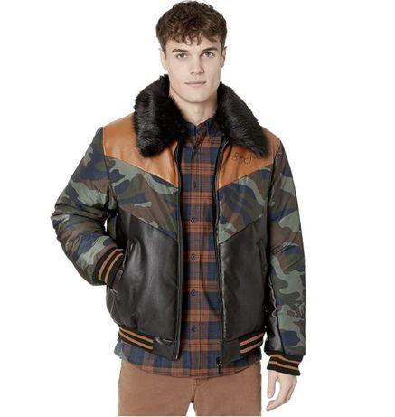 SEAN JOHN тёплая куртка бомбер изСША 52-54-56-58-Укр L-XL-USA еврозима