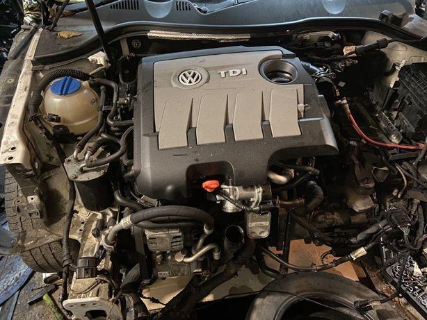 Двигатель 1.6tdi CAYC 77kw