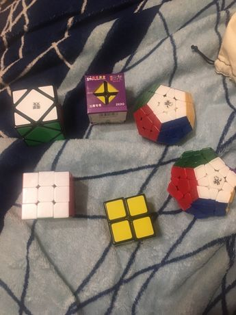 Кубики рубика 3 на 3, 2 на 2, пирамидка, мегамигкс, скваер
