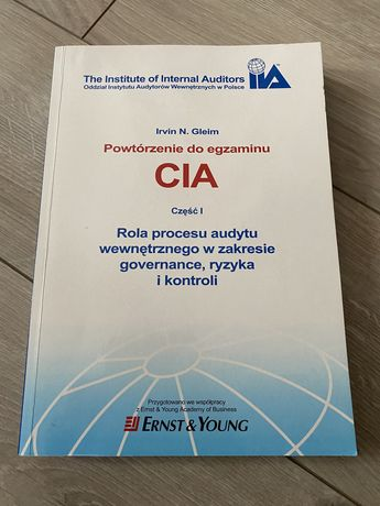 Egzamin CIA część 1 Irvin N. Gleim
