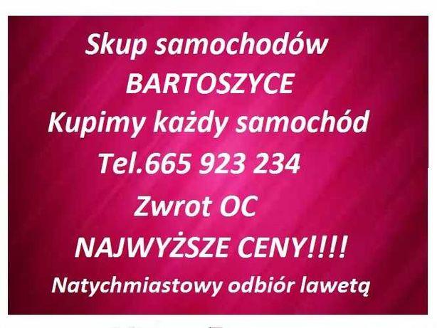 Skup Aut Bartoszyce/Zwrot OC