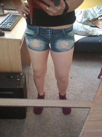 Krótkie spodenki jeans 25