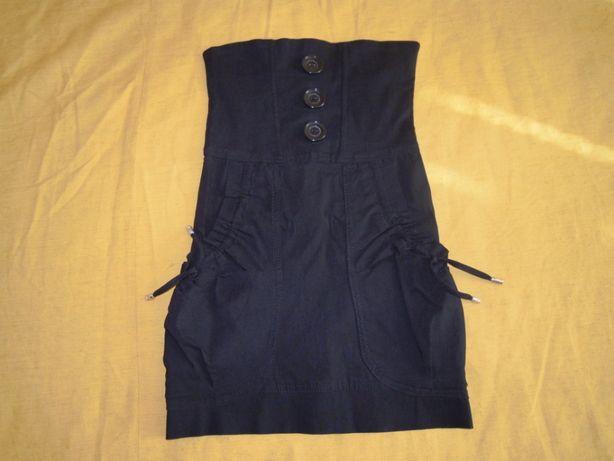 Сарафан стрейчевый школьный форма школьная 6, 7, 8 лет плаття шкільне