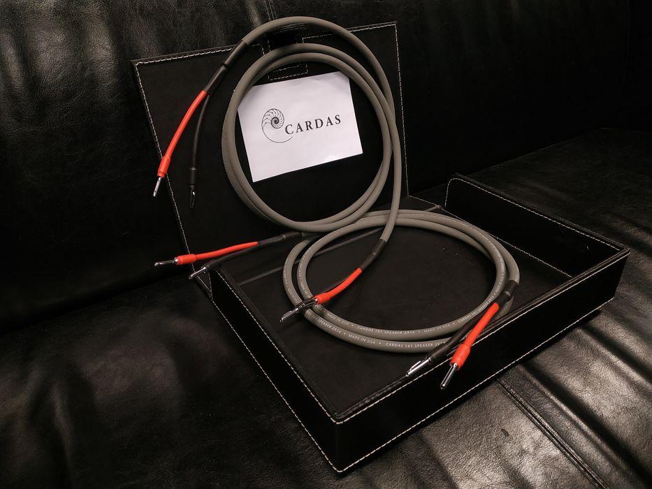 Cardas 101 kabel głośnikowy ze szpuli konfekcja Trans Audio Hi-Fi