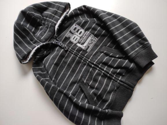 Bluza rozpinana z kapturem polarowa 98