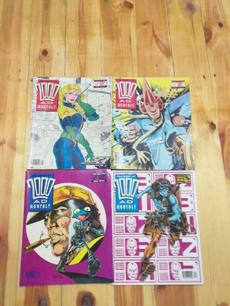 The Best of 2000AD Monthly 4 numery 90
