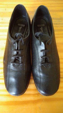 Sapatos ECCO, 38, pele genuína.