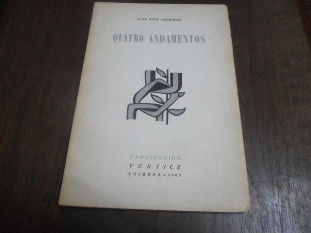 """""""Quatro Andamentos"""" de João José Cochofel - 1ª Edição de 1966"""
