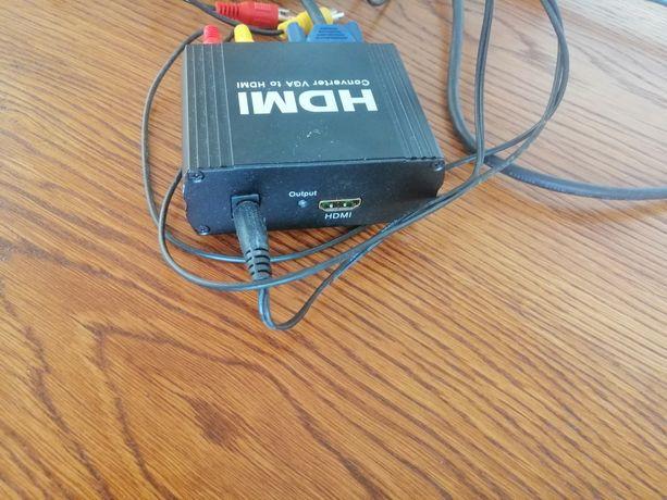 Konwerter VGA na HDMI