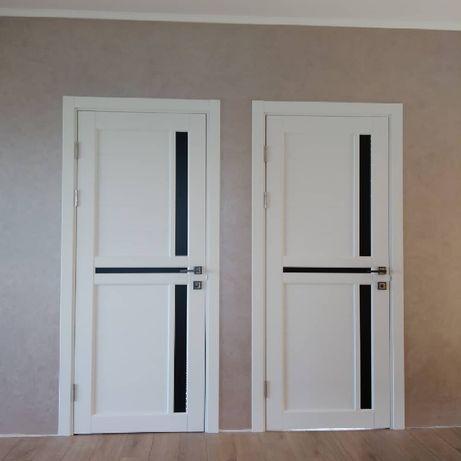 Установка дверей,металопластикових вікон, врізка защолок