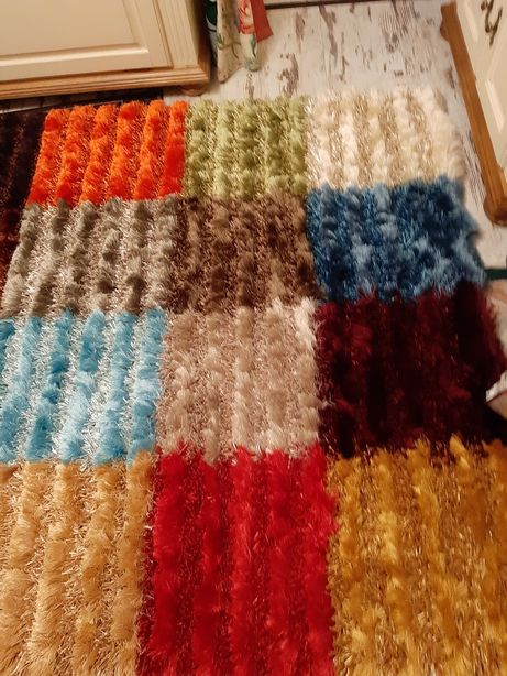 Dywan kolorowy