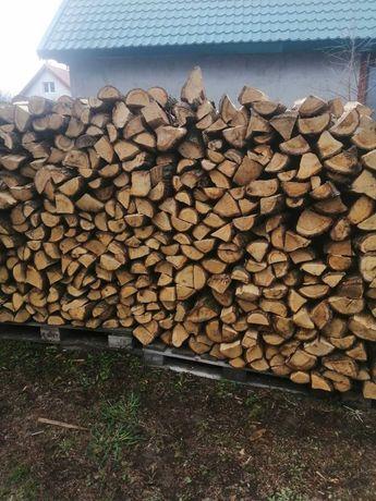 drewno kominkowe dąb grab brzoza klon sosna