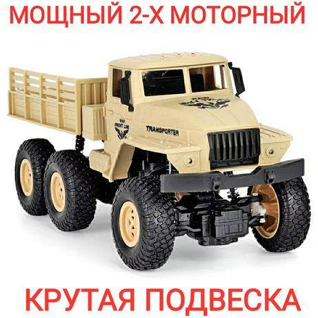 Машинка на радиоуправлении , автомобиль , грузовик .