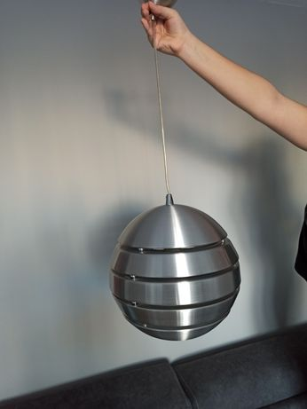 Lampa wisząca metalowa