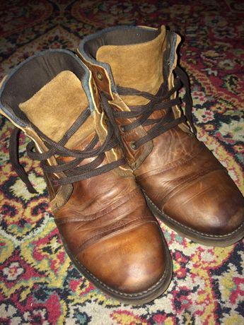 Мужские ботинки кожаные 2 пары