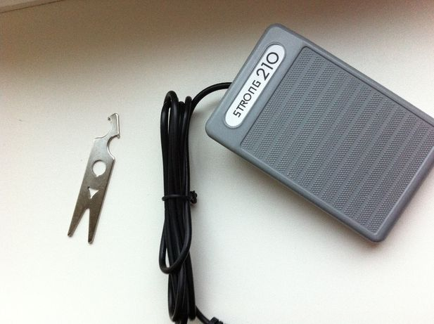 Педаль + ключ для фрезера Strong 210
