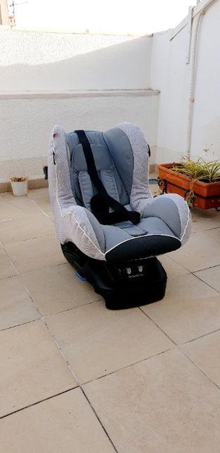 Bébécar | bobob fix | cadeira auto grupo 1 | Silver Shimmer