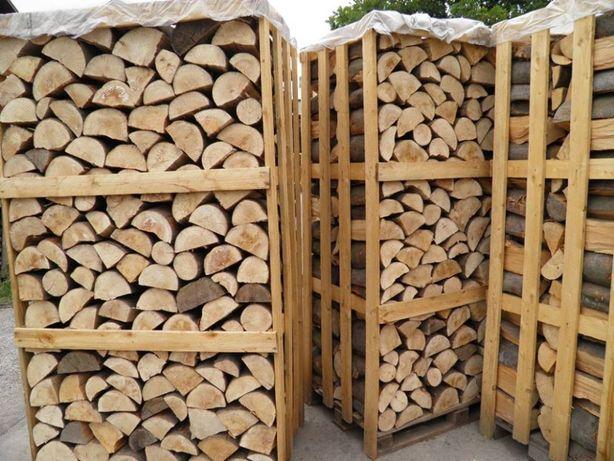 Drewno kominkowe, opałowe, grab, buk, dąb, brzoza, sosna i inne
