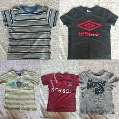 Футболки брендовые на мальчика 7-8 лет