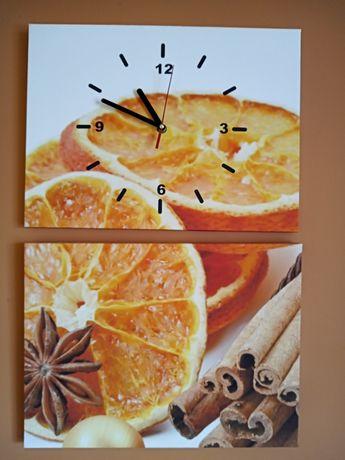 Zegar kuchenny, obraz