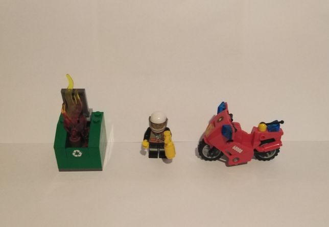 LEGO CITY 60000 Motor strażacki