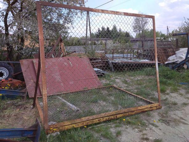 Duże ramy ogrodzeniowe 2 m x 2,5 m ramki ogrodzenie brama