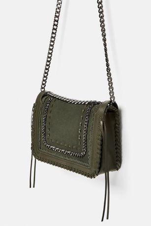 Шкіряна сумка Zara