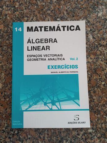 [NOVO] Álgebra Linear e Geometria Analítica - Exercícios