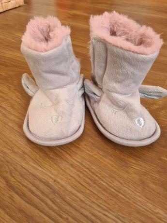 Buty niechodki dla dziewczynki