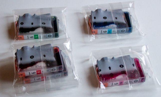 Conjunto de 5 tinteiros Canon BCI-6 (BCI6) selados, sem caixa.