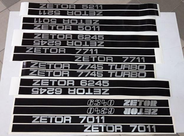Naklejki Zetor 5011,5211,7011,7045,7711,7745,6245,6340
