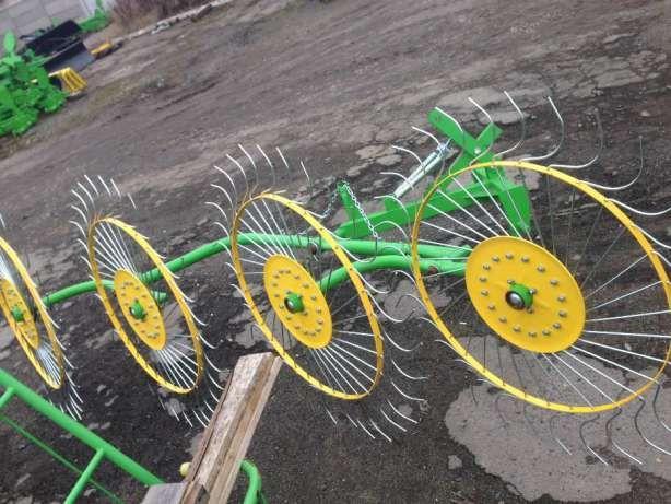 Грабли ворошилки , грабарка , гребка, 4-5 колес, солнышко