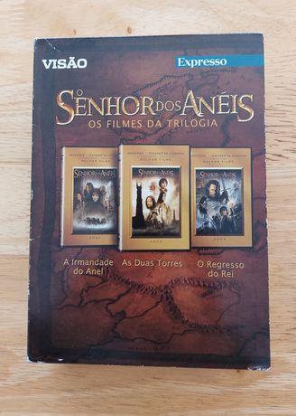 Trilogia Dvds Senhor dos Aneis