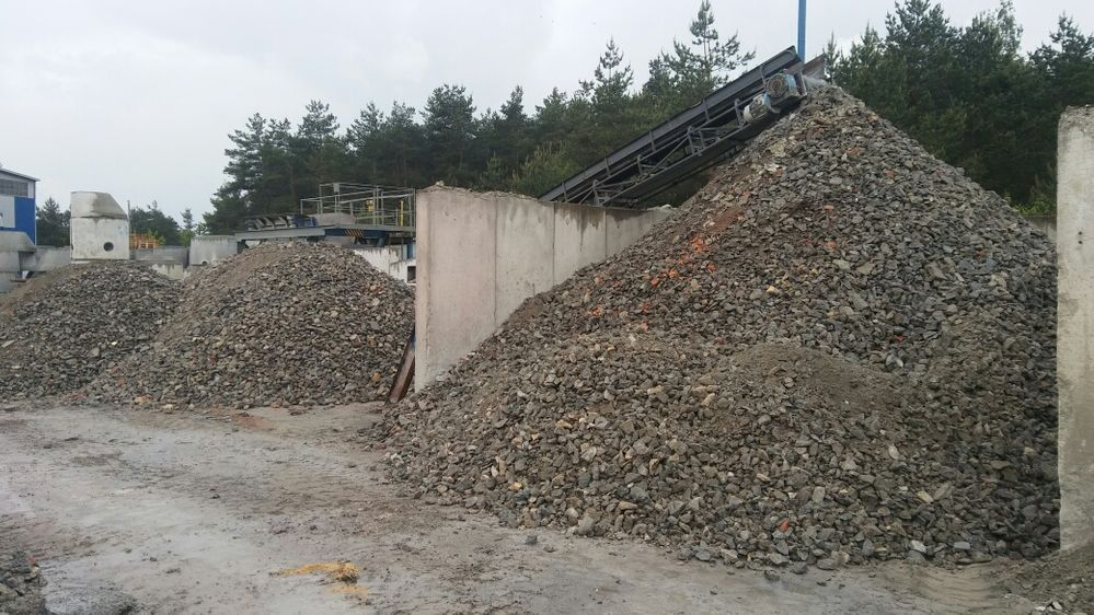 Sprzedam kruszywo betonowe