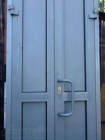 Двері алюмінієві утеплені або як люк на горище ОБМІН
