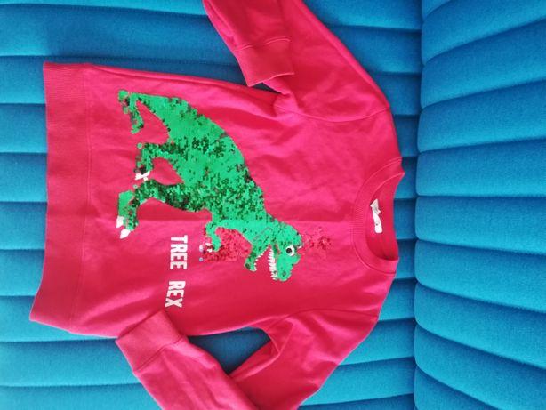 Bluza ze zmieniającym się wzorem dinozaur