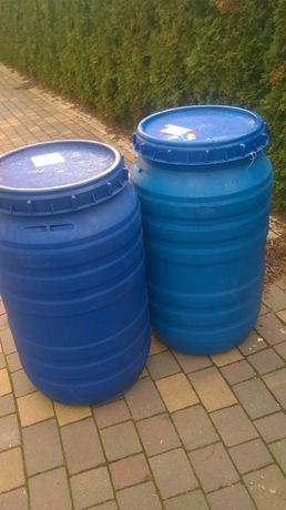 Beczki plastikowe 200 i 220 L po spożywce