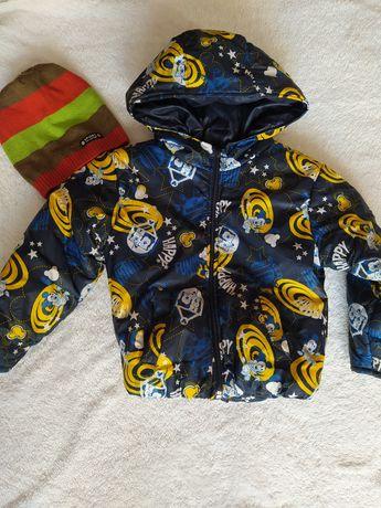 Детская осенняя куртка для мальчика рост 92-98