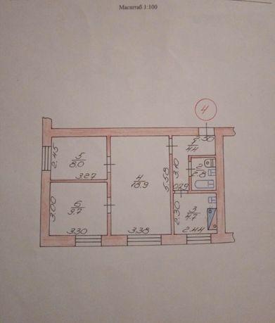 3-x кімнатна квартира в Ківерцях