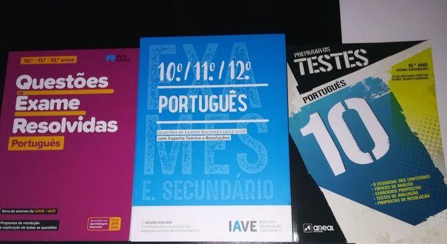 Livros de Português 10 ao 12 ano todos
