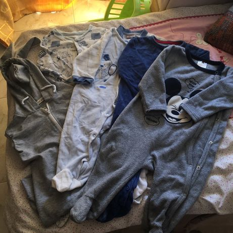 Lote de roupa menino 9-12 meses