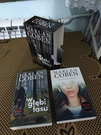 "Harlan Coben ""W głębi lasu"" ""Nieznajoma"""