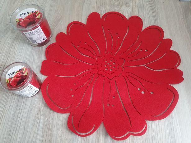 Nowe świece zapachowe Ikea Sinnlig, podkładka Home&You