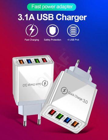 Зарядное устройство/Адаптер зарядки USB/Блочок зарядне/Адаптер питания