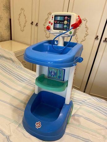 Тележка Доктора  Интерактивная Smoby игровой набор медицинский Доктор