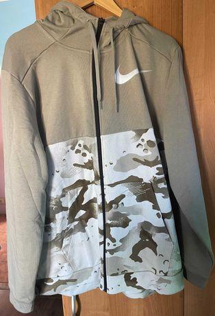 Nowa bluza treningowa moro Nike Dri-Fit w rozmiarze XL