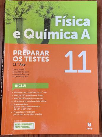 Livro de preparação de testes de física e química A - 11.ºano