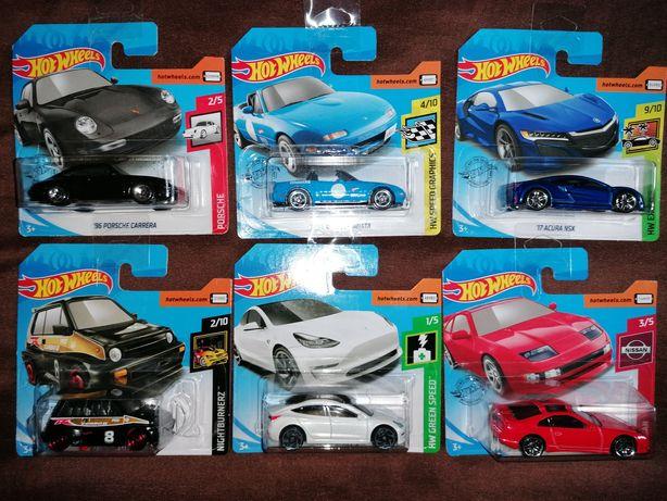 ARTIGOS NOVOS HW Mazda / Porsche / Honda / Acura / Nissan / Tesla