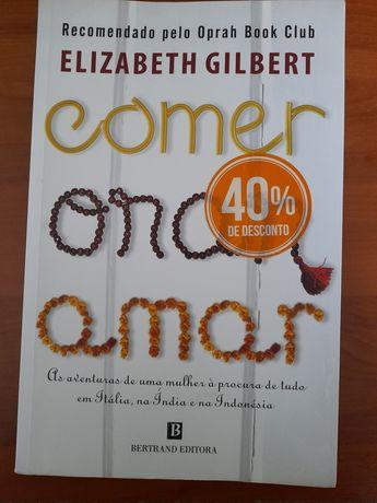 Livro Comer Orar Amar
