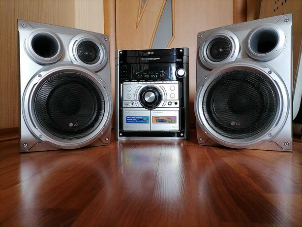 Караоке LG 200 Вт / ЮСБ USB / DVD / ДВД / MP3 / AUX Домашний кинотеатр